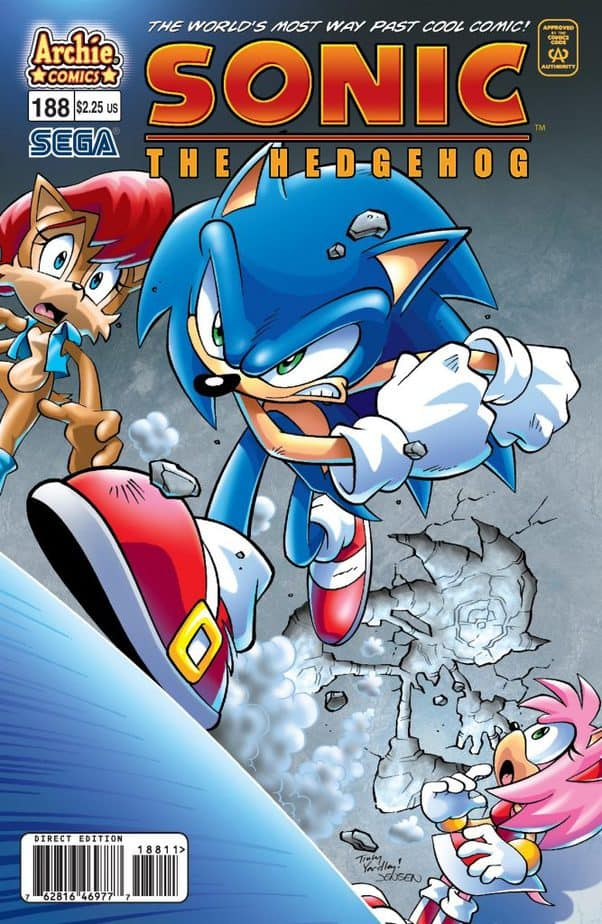 25 Furry Comics You Need to Check Out : Sonic the Hedgehog (Archie Comics/IDW Comics)