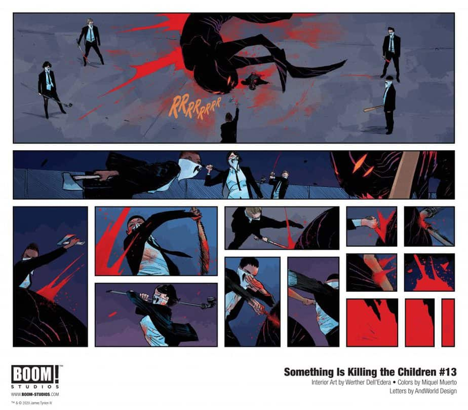 Something Is Killing The Children Page Issue 13 Page Art