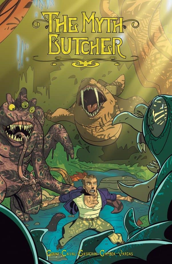 Comic Book Releases - January 13th, 2021 : The Myth Butcher