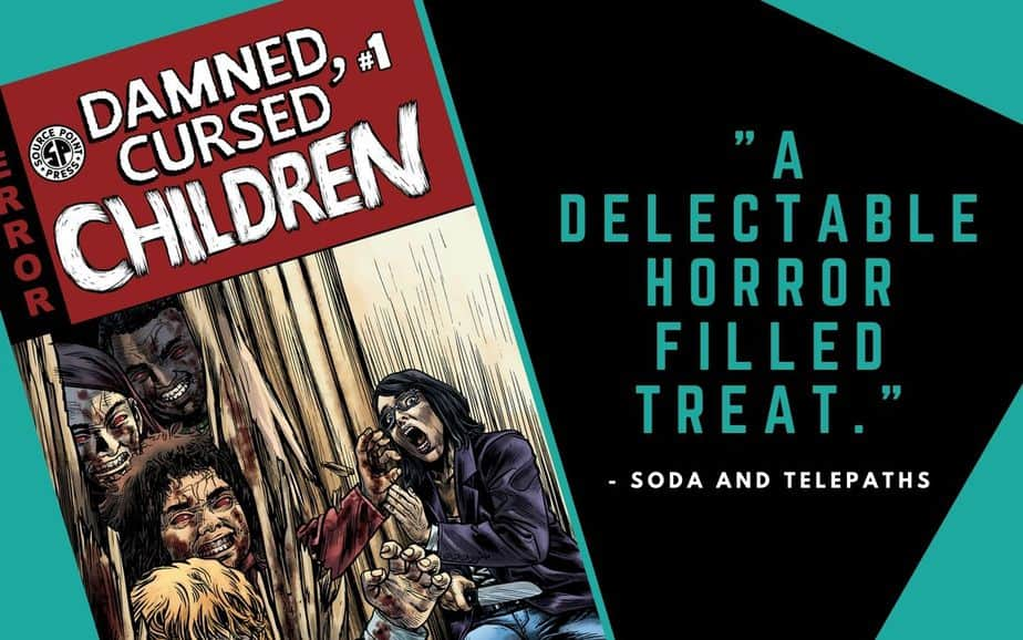 Damned Cursed Children is a delectable horror filled treat