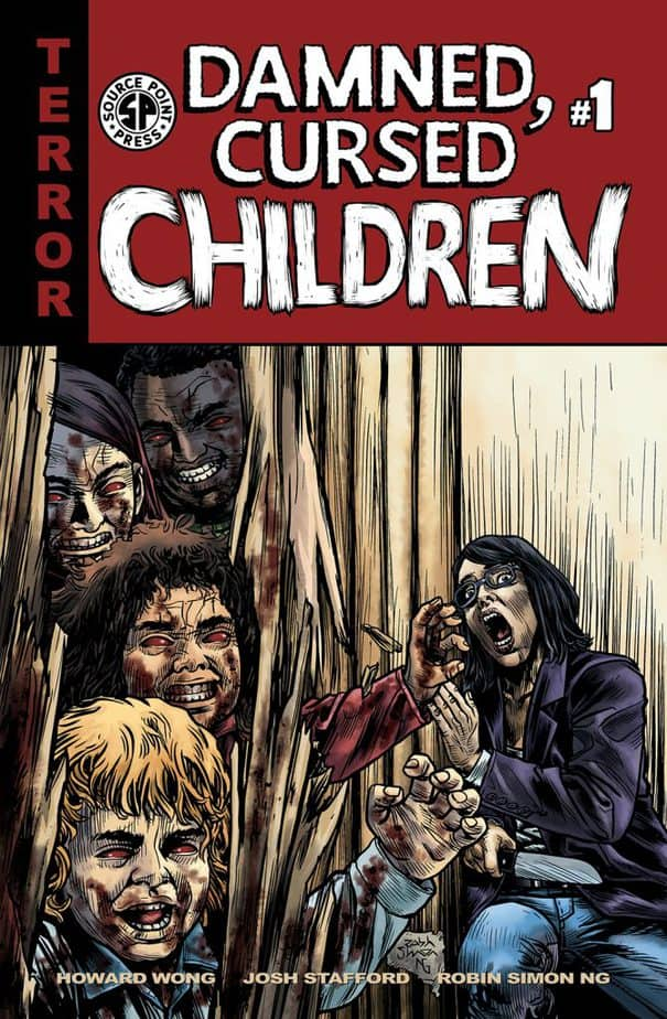 Damned Cursed Children Issue 1 available through Source Point Press