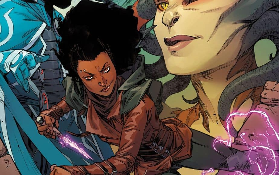 There's a Magic the Gathering comic book series coming out!
