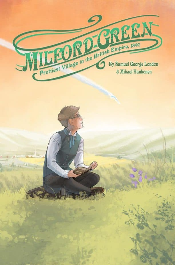 Milford Green Comic Book Review cover