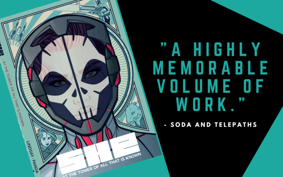She comic book : a highly memorable volume of work