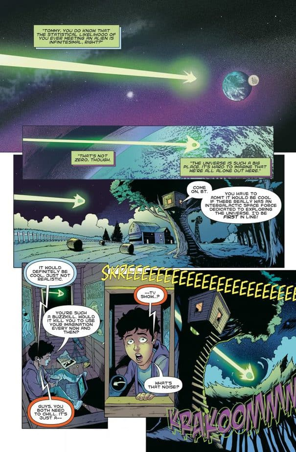 REVIEW: They Fell from the Sky #1 - For Flight of the Navigator Fans 1