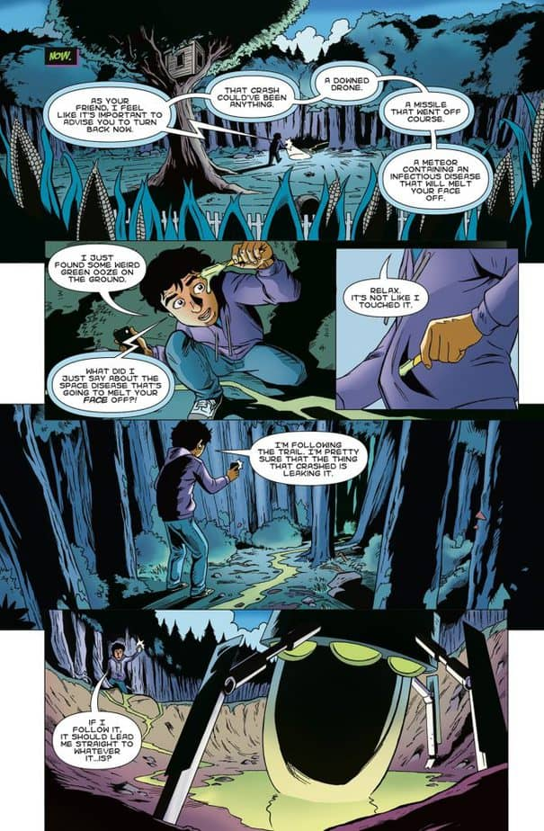 REVIEW: They Fell from the Sky #1 - For Flight of the Navigator Fans 2