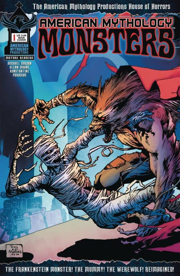 Comic Book Releases - January 13th, 2021 : American Mythology Monsters #1