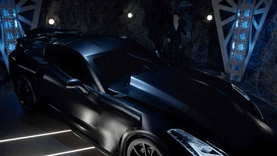 The Batmobile in the CW's Batwoman
