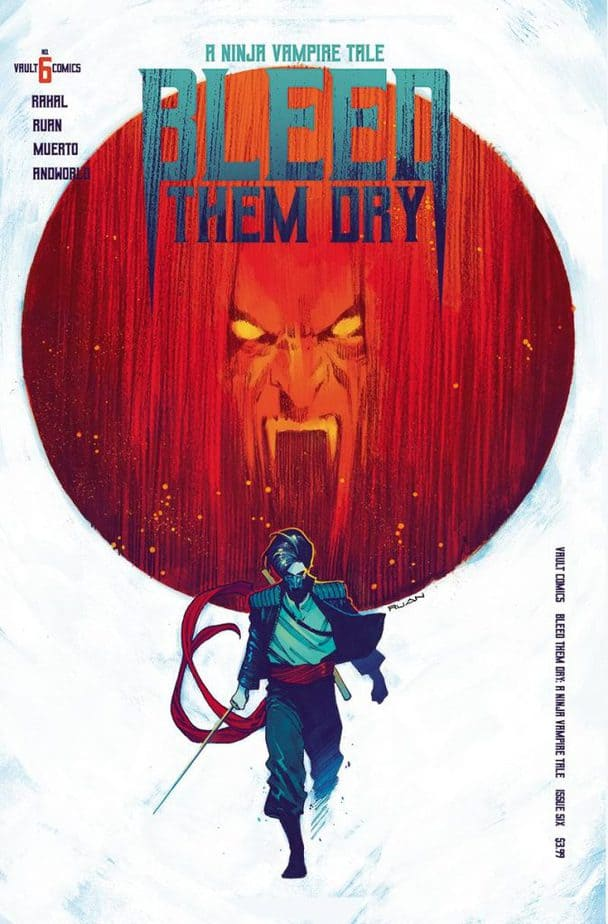 Comic Book Releases - January 13th, 2021 : Bleed Them Dry Issue 6