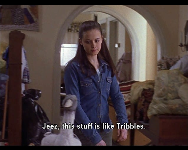 15 Star Trek Quotes used on Gilmore Girls