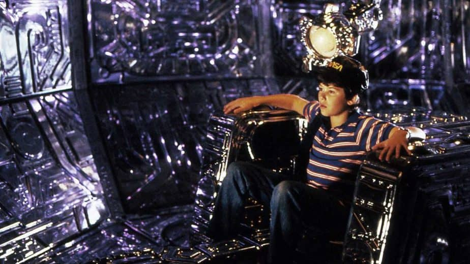 They Fell From The Sky #1 is a clear inspiration for Disney's Flight of the Navigator