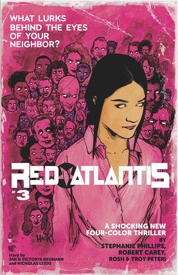 Comic Book Releases - January 13th, 2021 : Red Atlantis Issue 3