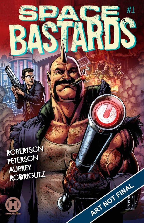 Comic Book Releases - January 13th, 2021 : Space Bastards Issue 1