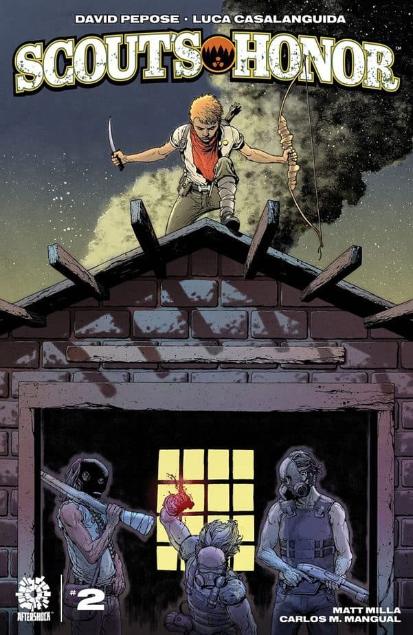 Scout's Honor Issue 2 Cover Photo Comic Book