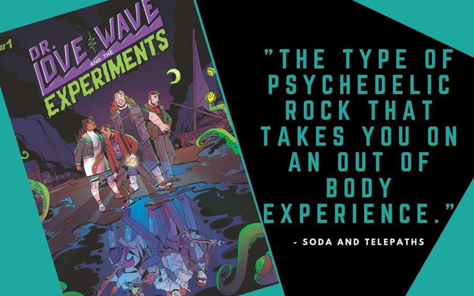 Dr Love Wave and the Experiments comic book review kickstarter indie comic
