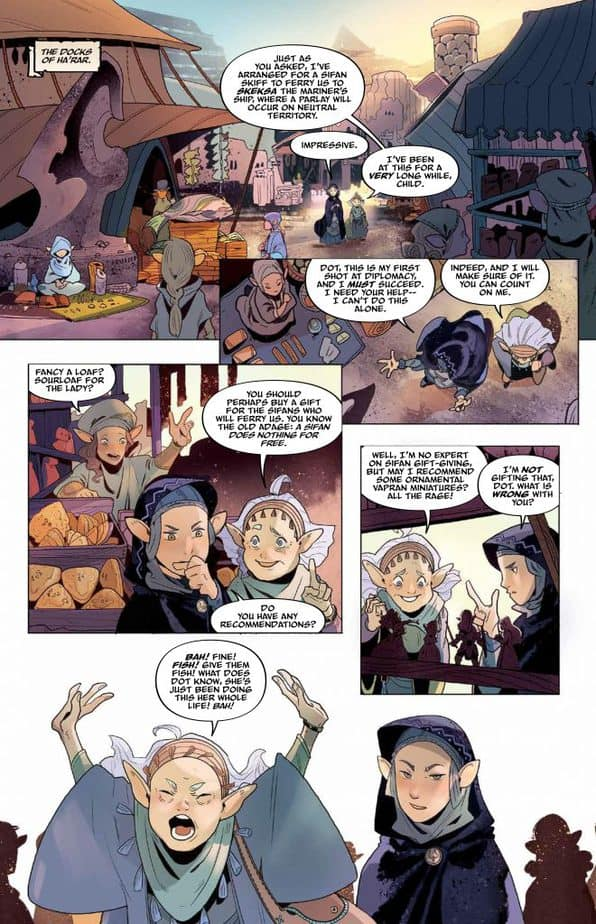 The Dark Crystal - Age of Resistance: Review and 13 Page Preview 1