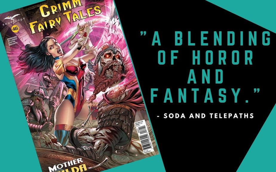 Grimm Fairy Tales 46 comic book review