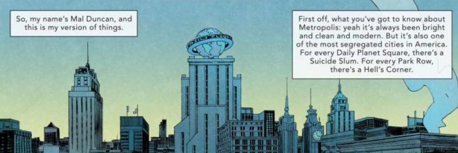 In Mal's own words. DC Universe.
