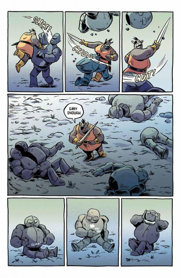 REVIEW: ORCS! #1 – Fantasy Adventure from Another Perspective 4