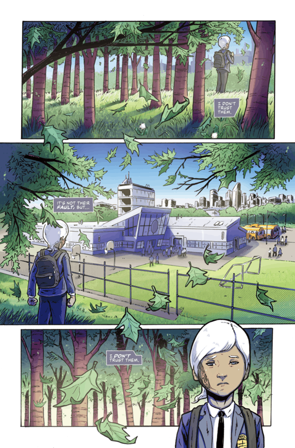 Exclusive Preview: NIL #1 - Available Soon On Kickstarter 3