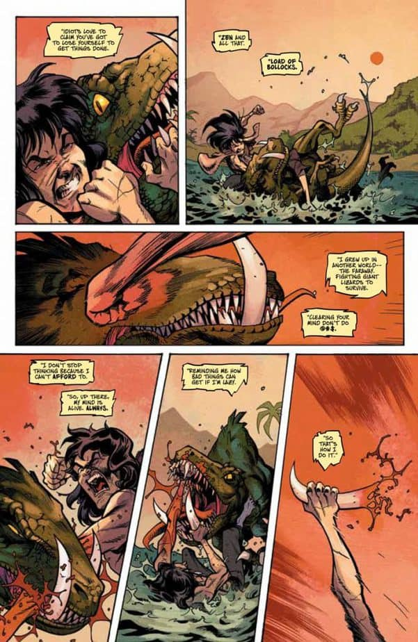 REVIEW: Savage #1 Is Action Packed and Unreservedly Cinematic 5
