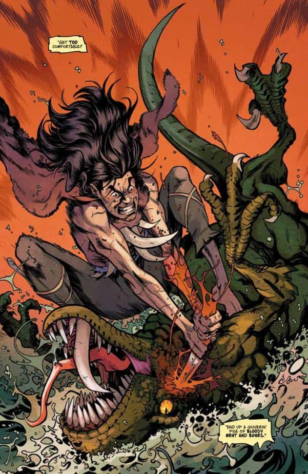 REVIEW: Savage #1 Is Action Packed and Unreservedly Cinematic 4