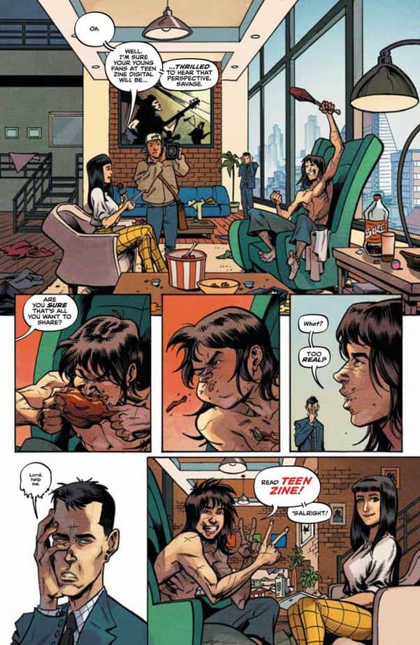 REVIEW: Savage #1 Is Action Packed and Unreservedly Cinematic 1
