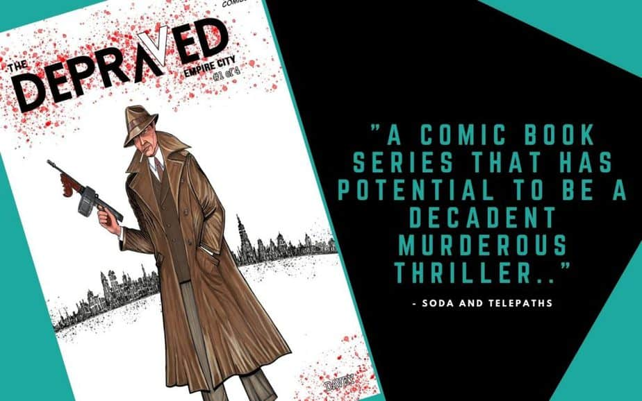 The Depraved #1 Indie Comic