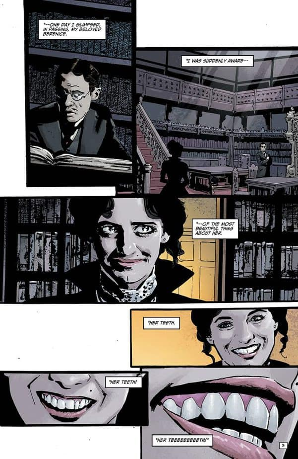 REVIEW: Edgar Allan Poe's Snifter of Blood #5 is Creeptastic 3