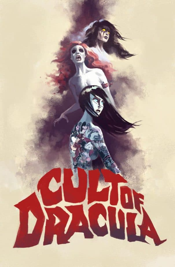 Cult of Dracula front cover indie horror comic