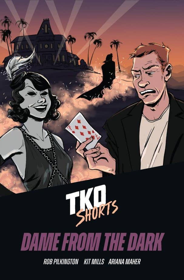 Dame from the Dark TKO Shorts comic book review