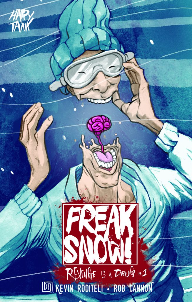 Behemoth Comics are Giving to Charity with Freak Snow 1