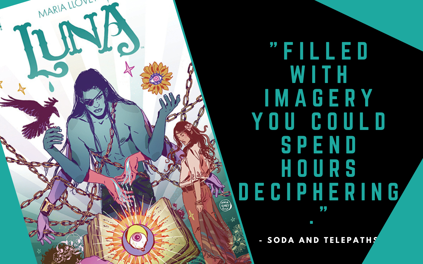 REVIEW: Luna #2 provides a Psychedelic Feast for the Eyes 1