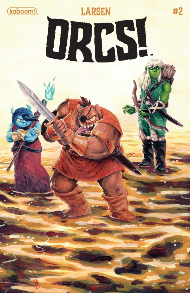 Orcs! #2 out through Boom studios