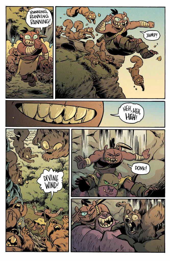 REVIEW: ORCS! #2 – A DnD Adventure Given Real Heart 4