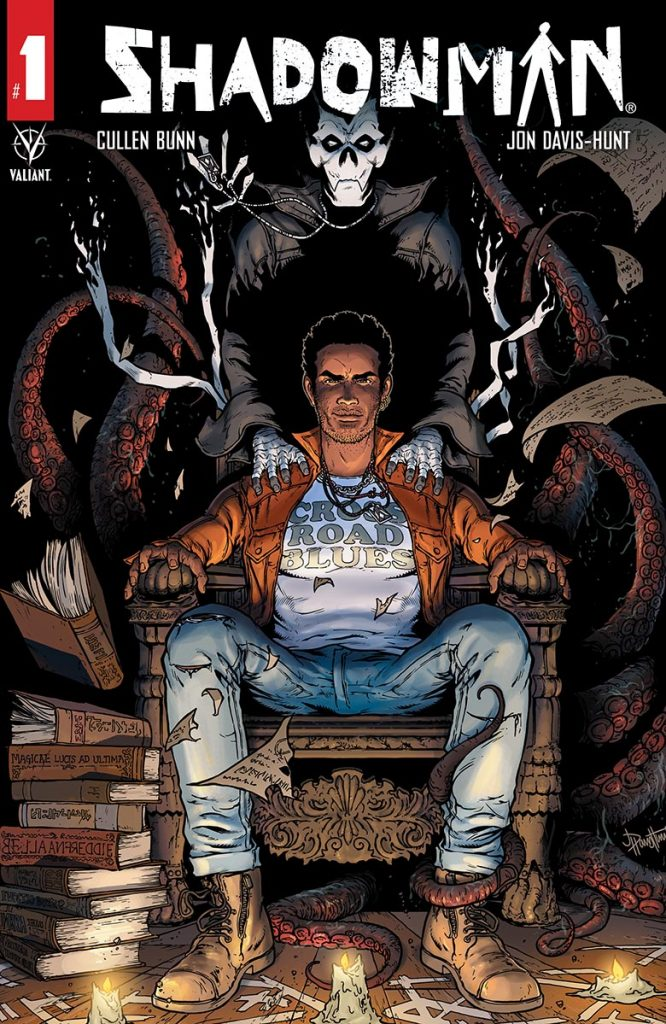 Shadowman #1 Front Cover Valiant Entertainment