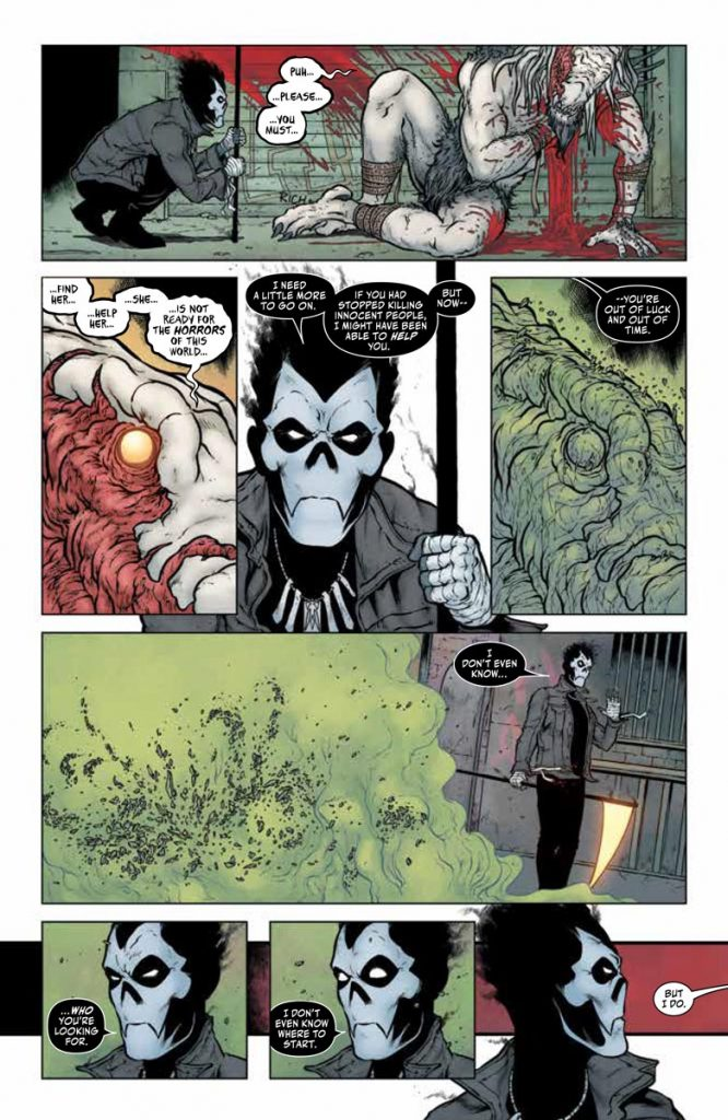 REVIEW: Shadowman #1 sits somewhere between Sandman and Spawn 2