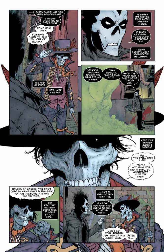 REVIEW: Shadowman #1 sits somewhere between Sandman and Spawn 4