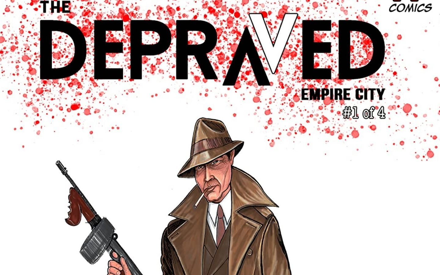 Exclusive Preview: The Depraved #1 - Available Soon on Kickstarter 1