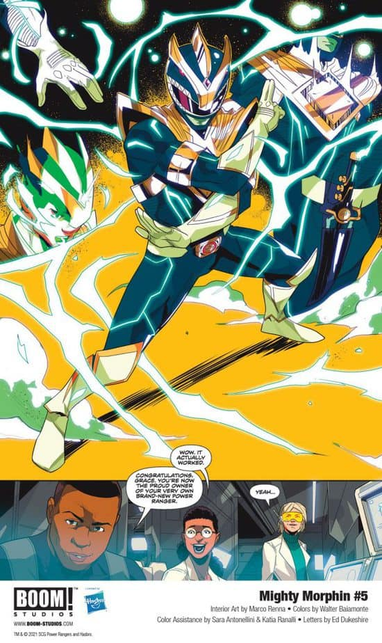 5 Page Preview: Secrets of the Green Ranger Finally Revealed in Mighty Morphin #5 4