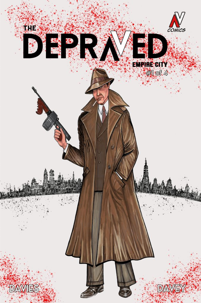 The Depraved Issue 1 available soon on Kickstarter