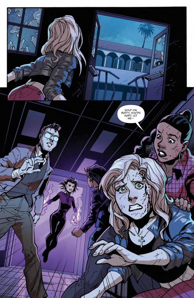 REVIEW: Buffy the Vampire Slayer #24 - A Lot in One Issue 2