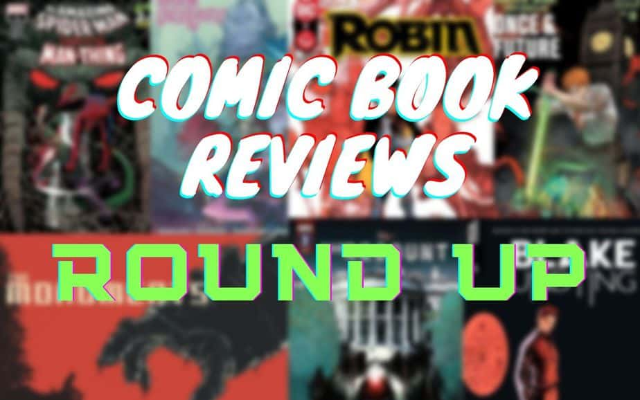 COMIC BOOK REVIEWS ROUNDUP