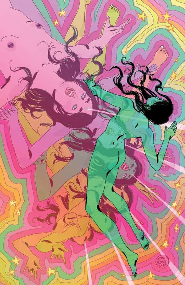 Luna #3 builds on Llovet's trippy supernatural thriller style and is remarkably exceptional 5