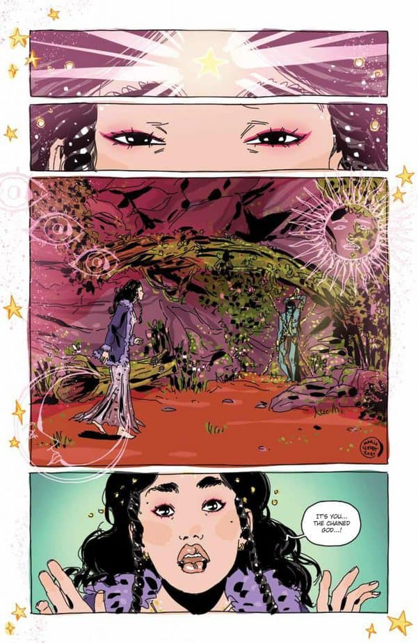 Luna #3 builds on Llovet's trippy supernatural thriller style and is remarkably exceptional 6