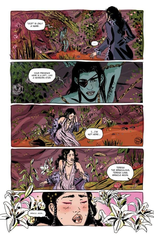 Luna #3 builds on Llovet's trippy supernatural thriller style and is remarkably exceptional 7