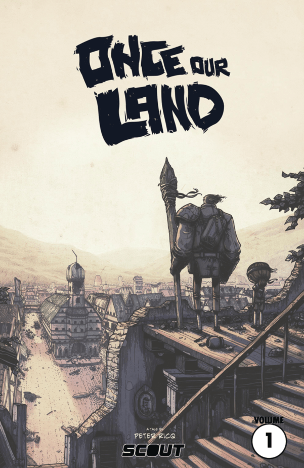 Once Our Land Graphic Novel front cover