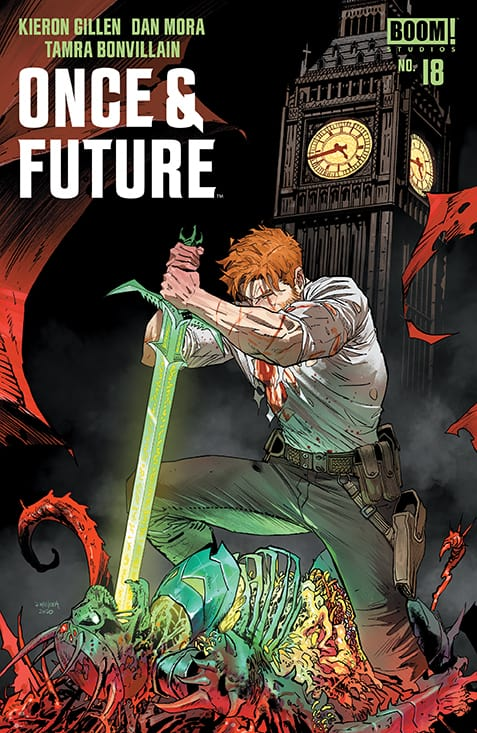 Once and Future 18 comic book review