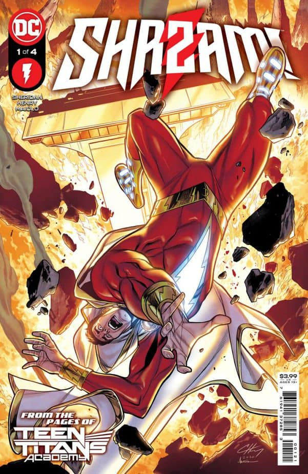 Shazam Blasts into Four Issue Mini Series coming July 1