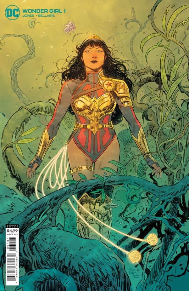 Stunning Wonder Girl Artwork Revealed from Joëlle Jones and Jordie Bellaire 8